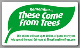 Remember...These Come From Trees stickers