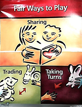 Sharing, Trading, Taking Turns
