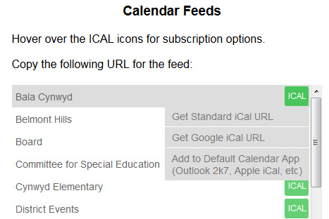 Usciences Academic Calendar.Add Lmsd Events To Your Personal Calendar With Ical Feeds Read More