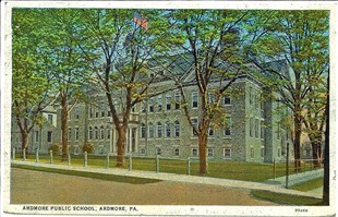 Sketch of the Ardmore Avenue School