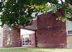 Entrance to Gladwyne ES