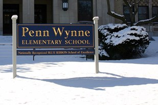Penn Wynne Elementary School Sign